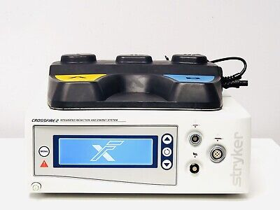 Stryker 475-100-000 Crossfire 2 Integrated Arthroscopy Console With Footswitch