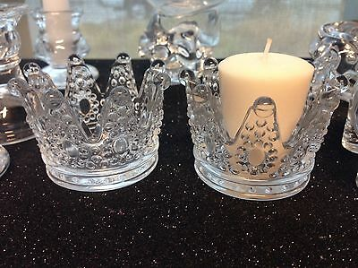 Center Table Decorations (12-Princess Crown Candle Holder Favors Party Table Decorations Center)