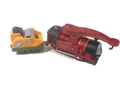 Trackmaster Motorized Thomas Tank Train Engine Helpful Harvey 2013 Tested!