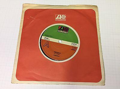 "Barrabas - Checkmate / Four Season Woman - 7"" Vinyl, 1st Press A1B1 - EX-"