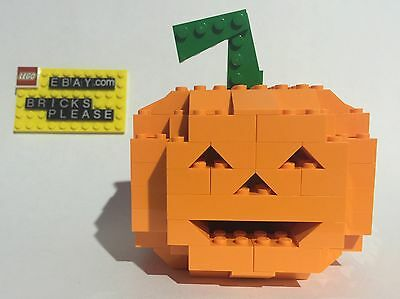 NEW LEGO CUSTOM JACK O LANTERN LIGHT UP HALLOWEEN PUMPKIN DECORATION LED 2015](Halloween Jack O Lantern Tradition)