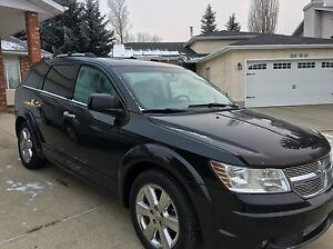 2009 Dodge Journey R/T AWD (DVD/NAVIGATION/BACKUP CAM/LEATHER) Edmonton Edmonton Area image 2