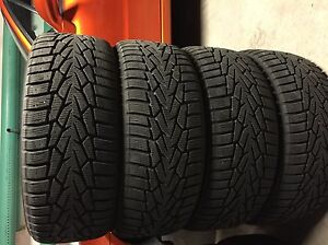 225/55R17 Hakkapelitta 7 winter tires 400$