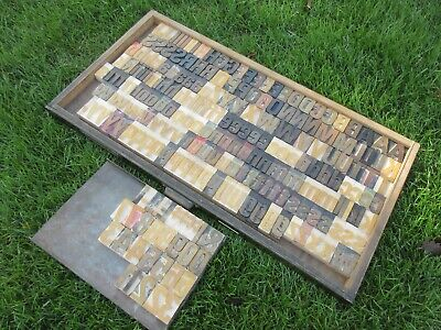 Letterpress Wood Type Showcardlinoscribe 12 Line 2 Univers 67  A64