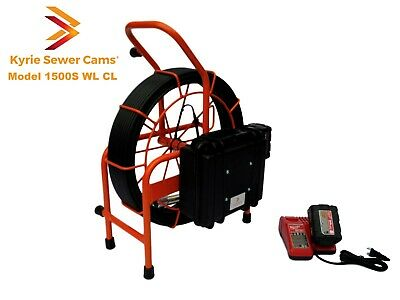Kyrie Cam Model 1500s Wl Cl 150 Battery Powered Sewer Camera W Wi-fi Sonde