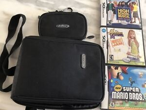 3 Nintendo DS games and 2 Cases