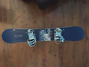 Lamar Snowboard with Bindings for Sale  Edmonton Edmonton Area image 1