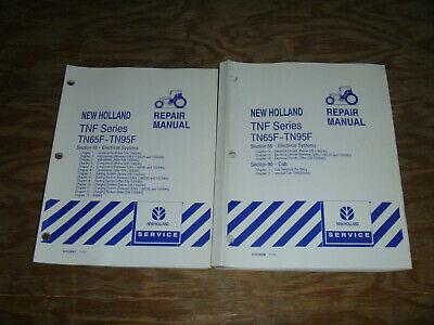 New Holland Tn65f Tn70f Tn75f Tractor Cab Electrical Wiring Diagrams Manual