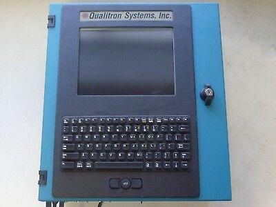 Qualitron Q3000 Spc Gaging Industrial Computer