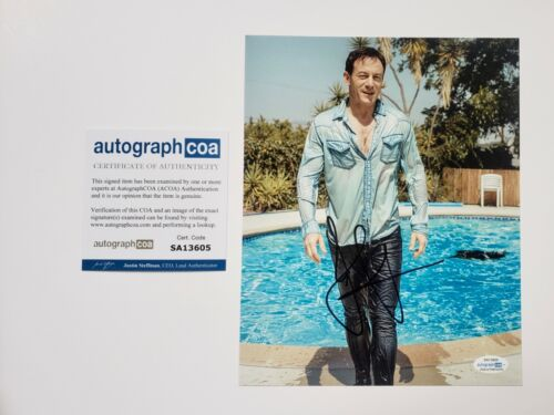 Jason Isaacs Autographed Signed 8x10 Photo ACOA