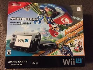 Almost NEW WiiU With Mariocart