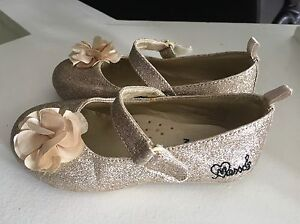 Mexx gold glitter shoes size 8