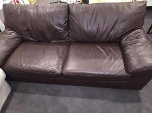 2 seater leather sofa Paddington Eastern Suburbs Preview