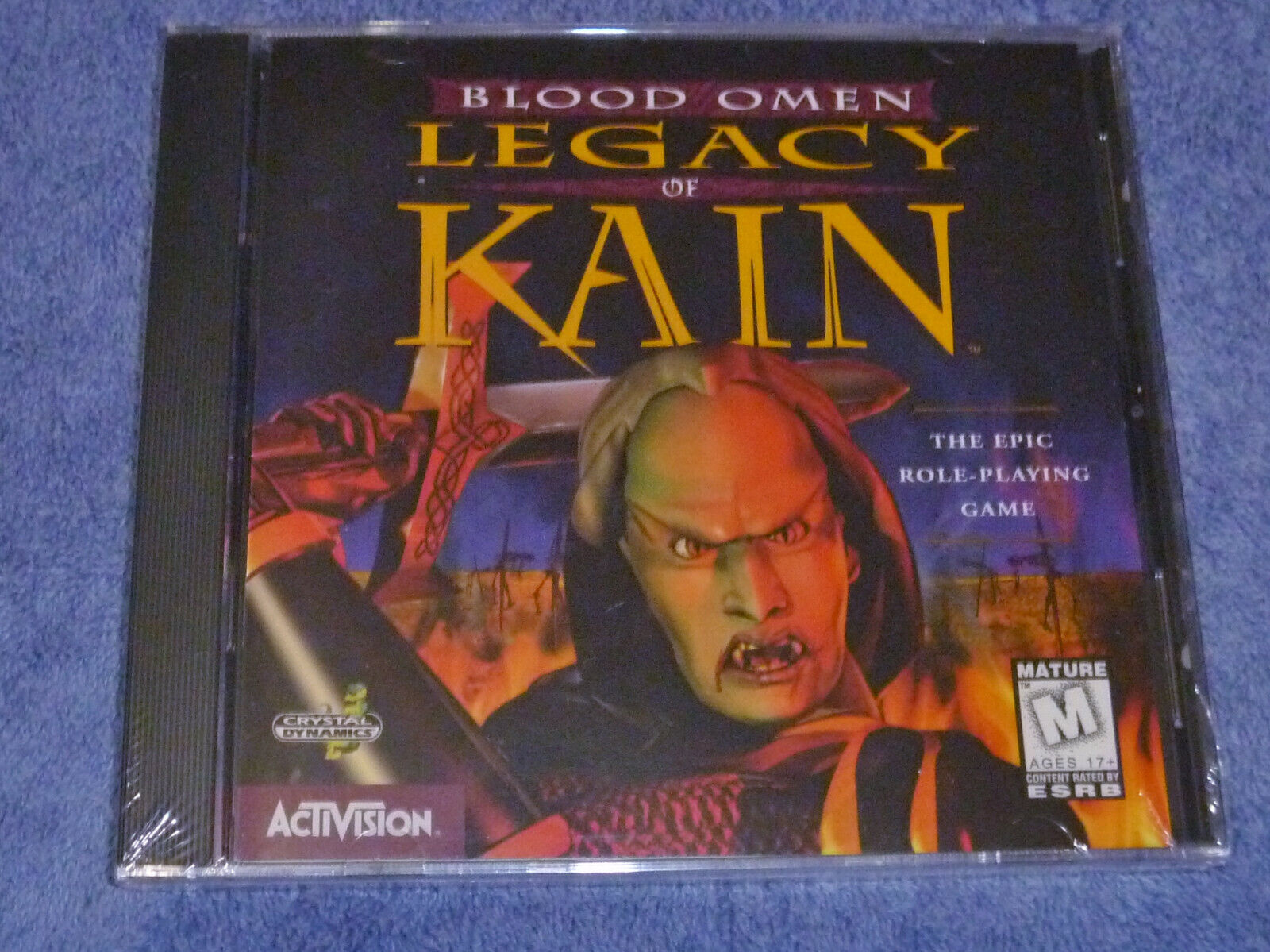 SEALED Blood Omen Legacy Of Kain PC Role The Epic Role Playing Game NEW  - $39.95