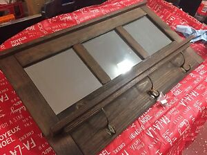 Handcrafted solid pine mirror St. John's Newfoundland image 2