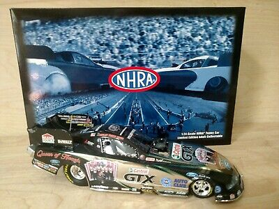 Ashley Force Hood 2010 Castrol Queen of Hearts Ford Mustang Funny Car -