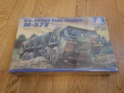 M-978 U.S. Heavy Fuel Tanker by Italeri 1:35 298 FACTORY SEALED 50
