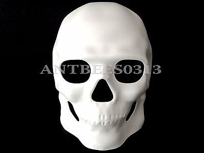 Halloween DIY Unpainted White Mardi Gras Ball Prom Costume Masquerade Mask