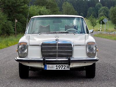 Mercedes-Benz 220 D /8 Strich Acht Oldtimer W115 Leder Diesel H-Kennz. TÜV neu! gebraucht kaufen  Versand nach Austria
