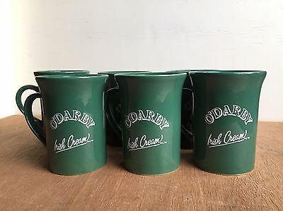 Set of 6 O'Darby Irish Cream Coffee Mug Unripened Made in Carrigdhoun Ireland