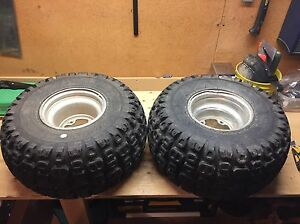 Quad Rims and Tires - Kenda Mud Puppy