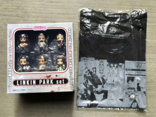 LINKIN PARK Nendoroid Petite + Linkin Park T-shirt Bundle