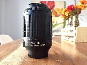 Nikon DX Nikkor 55-200mm VR Zoom Lens
