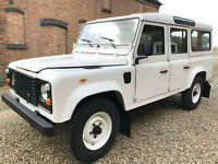 Land Rover Defender 110 County Station Wagon LHD USA Exportable