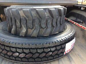 Brand new Semi Tires and skid steer tires