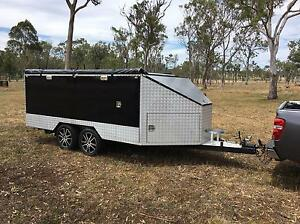 Toy Hauler enclosed trailer camper South Toowoomba Toowoomba City Preview