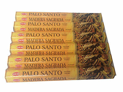 Palo Santo Incense Sticks  Joss HEM Brand x 6 Boxes -120 Sticks