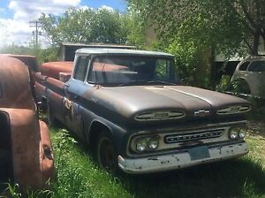 Very solid 1961 Chevy Apache pickup $2200.00obo