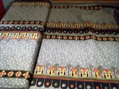 """Moda """"Bird in Hand Quilt"""" by Kathy Schmitz Striped Fabric 5724-13"""
