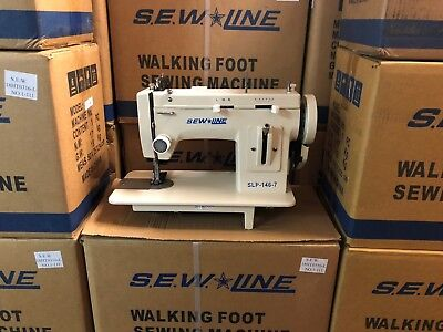 Sewline 7portable Walking Foot Zig Zag Case Extras Industrial Sewing Machine