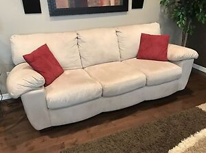 Microfibre Sofa and Loveseat Set