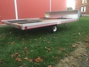 10ft Open Snowmobile Trailer London Ontario image 4