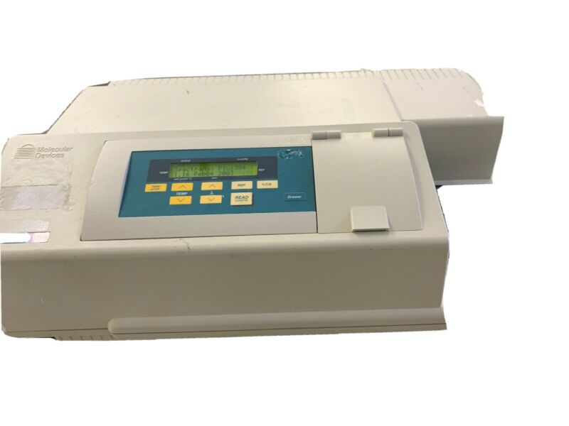 MOLECULAR DEVICES SPECTRAMAX 384 PLUS MICROPLATE SPECTROPHOTOMETER
