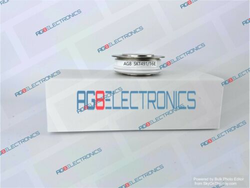 Replacement for SKT491/16E - SEMIKRON Thyristor Semiconductor SCR - NEW