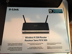 Dlink wireless router