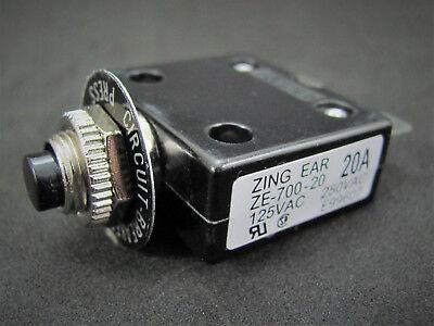 25a 125 250v Push-button Circuit Breaker Wquick Connect Term