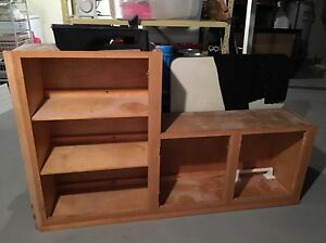 Free shelving for garage/basement/workbench
