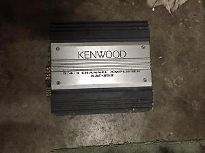 Kenwood 5 channel amp amplifier Keilor Downs Brimbank Area Preview