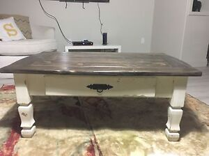 BEAUTIFUL Refinished rustic coffee table
