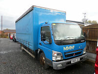 2006 MITSUBISHI CANTER 75 7C14 CURTAIN SIDED 7500 KG