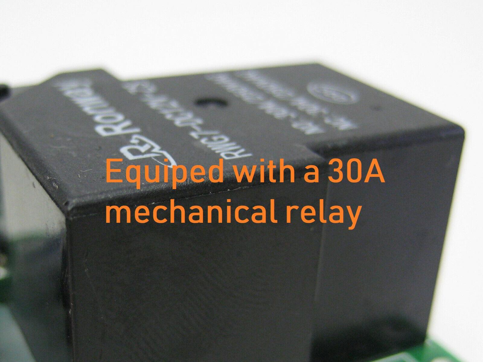 как выглядит Система автоматики для дома MSD 12V DC on off relay switch remote control transmitter with 12v 20A output фото