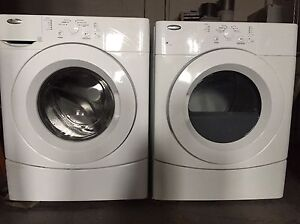 Free delivery! Stackable whirlpool washer dryer