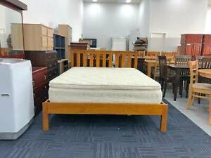 DELIVERY STRONG SOLID WOODEN Queen bed frame FOR SALE