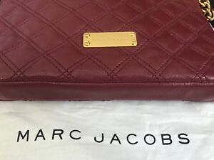 Marc Jacobs Quited leather bag, gold chain shoulder strap