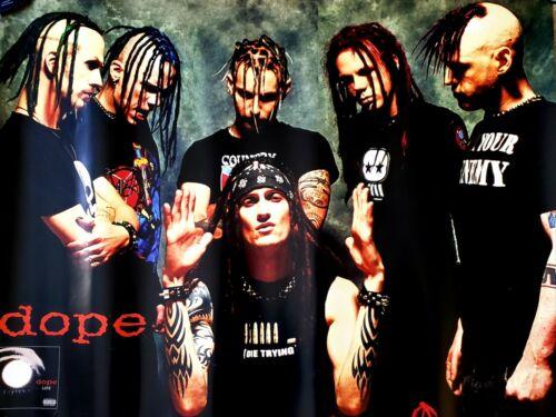 DOPE-PROMO POSTER 2001  (Life) USA (NEW YORK ROCK BAND)
