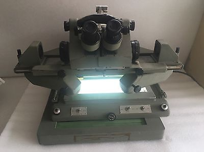 Military Special Research Lab Microscope